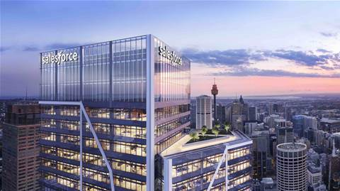 Salesforce slaps its name on Sydney's tallest office tower
