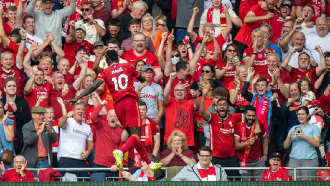 Mane's ton up as Liverpool go top of EPL