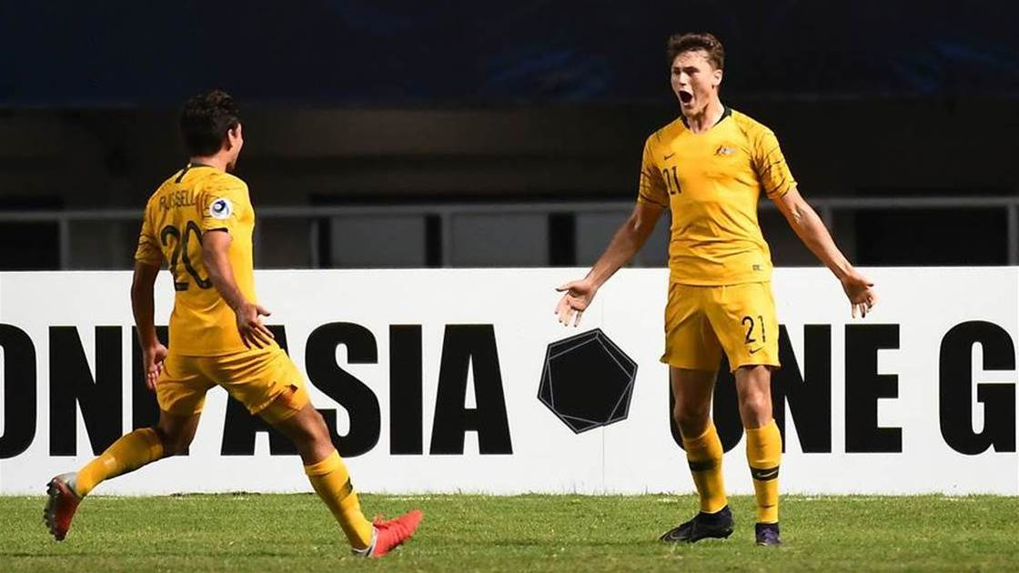 'No one is falling through' Young Socceroos talent rampage