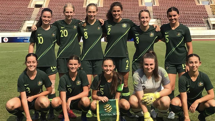 Dower names Junior Matildas prep-squad