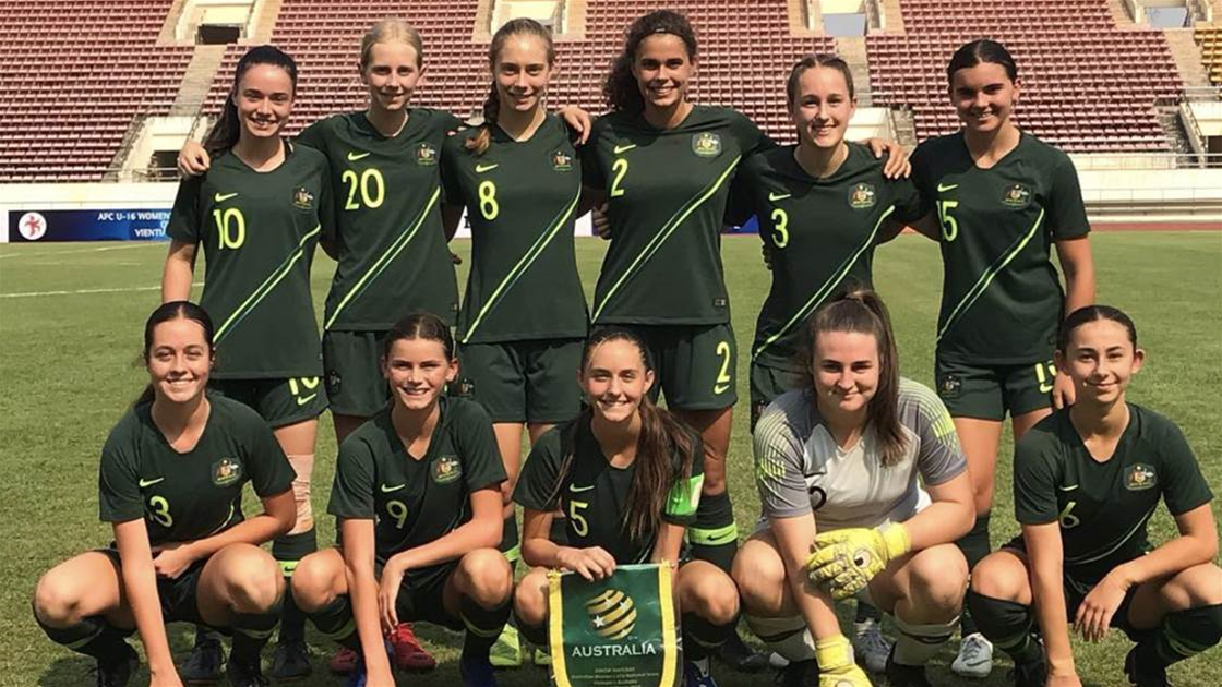 Dower names Junior Matildas prep-squad