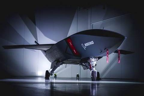 Boeing Australia debuts first locally built 'Loyal Wingman' defence drone