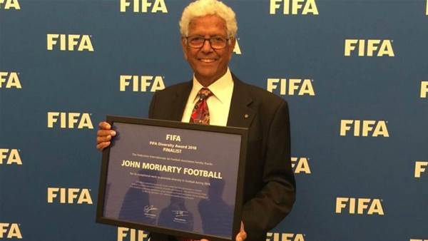 Top three FIFA honour for Socceroo John Moriarty