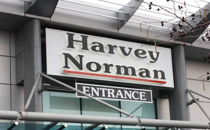 Harvey Norman shares tank as half-year profit slumps