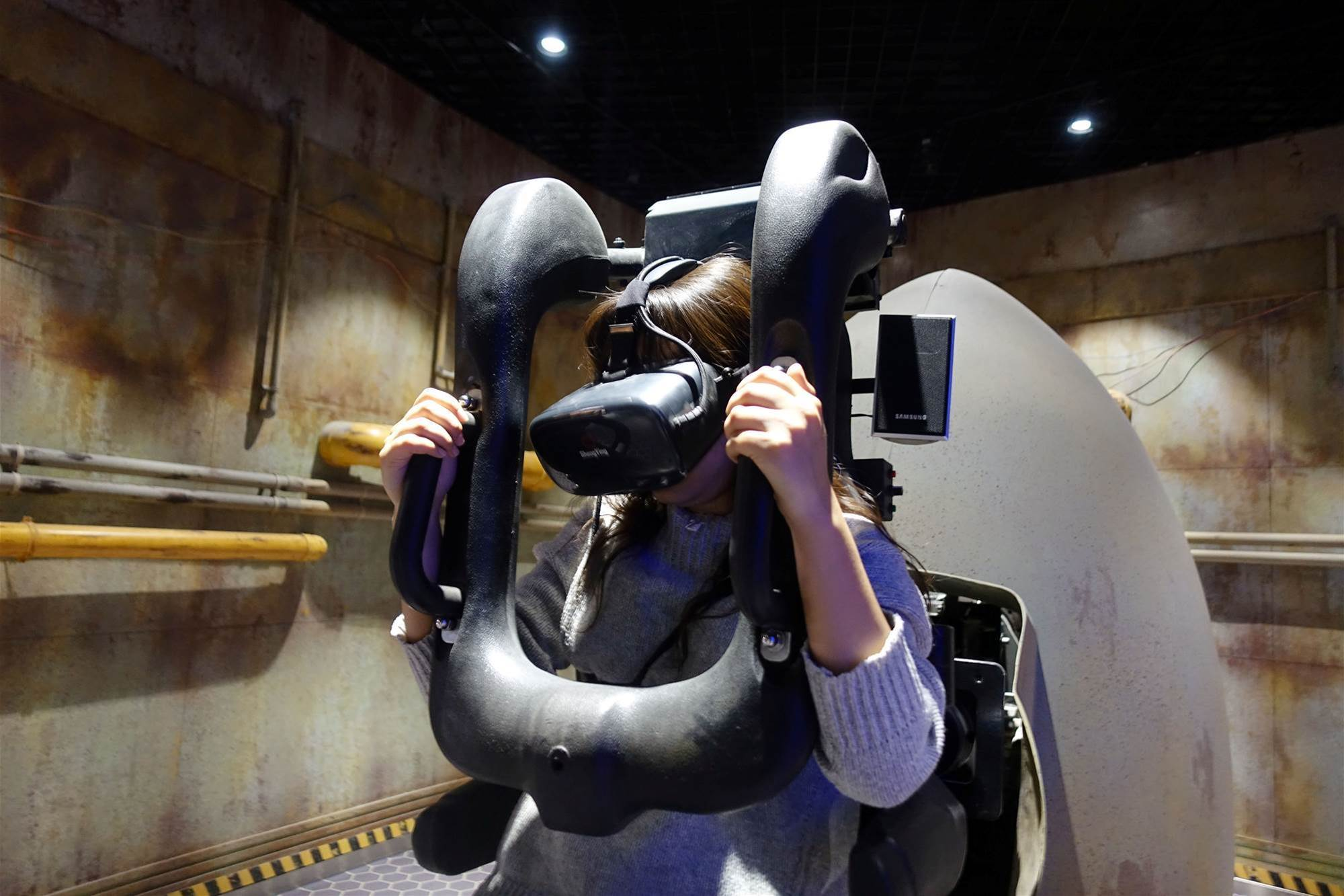 Inside China's first virtual reality theme park