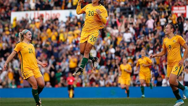 Huge financial boost for Matildas and Olyroos