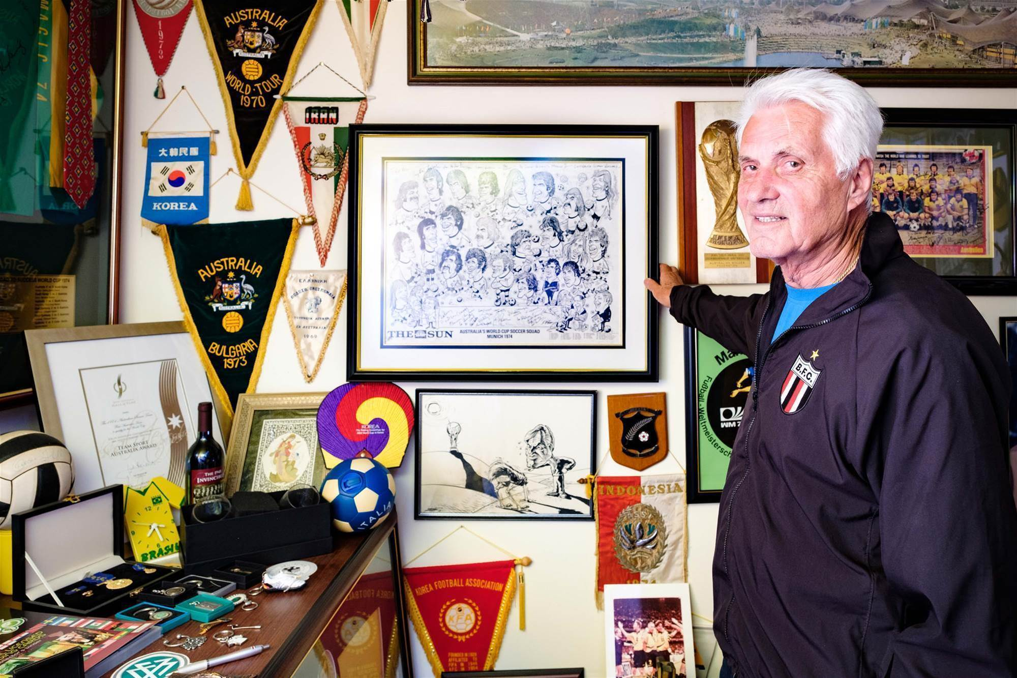Does Rale Rasic house the best private collection of football memorabilia in Australia?