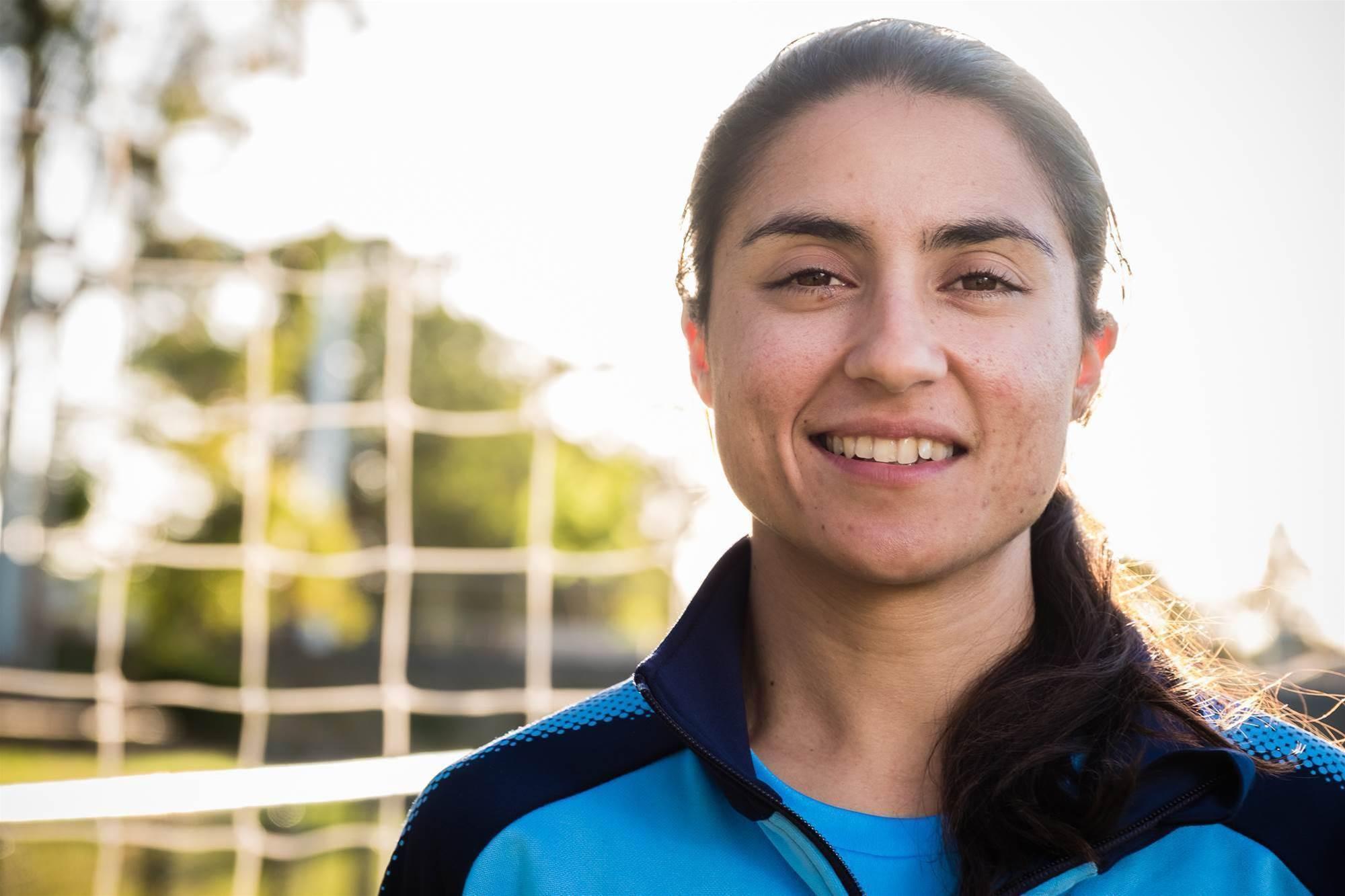 Teresa Polias: Football is in my soul