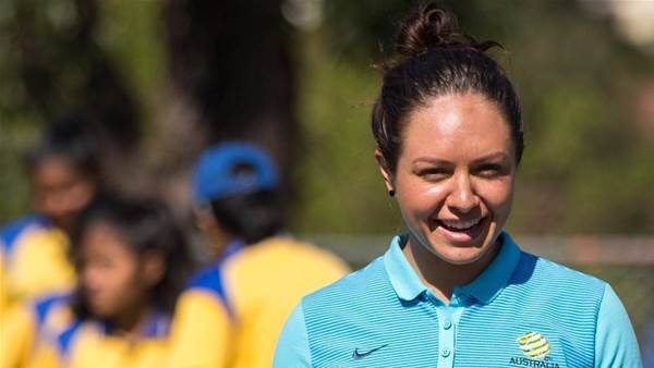 Kyah Simon calls on sports fans to pack out AAMI Park