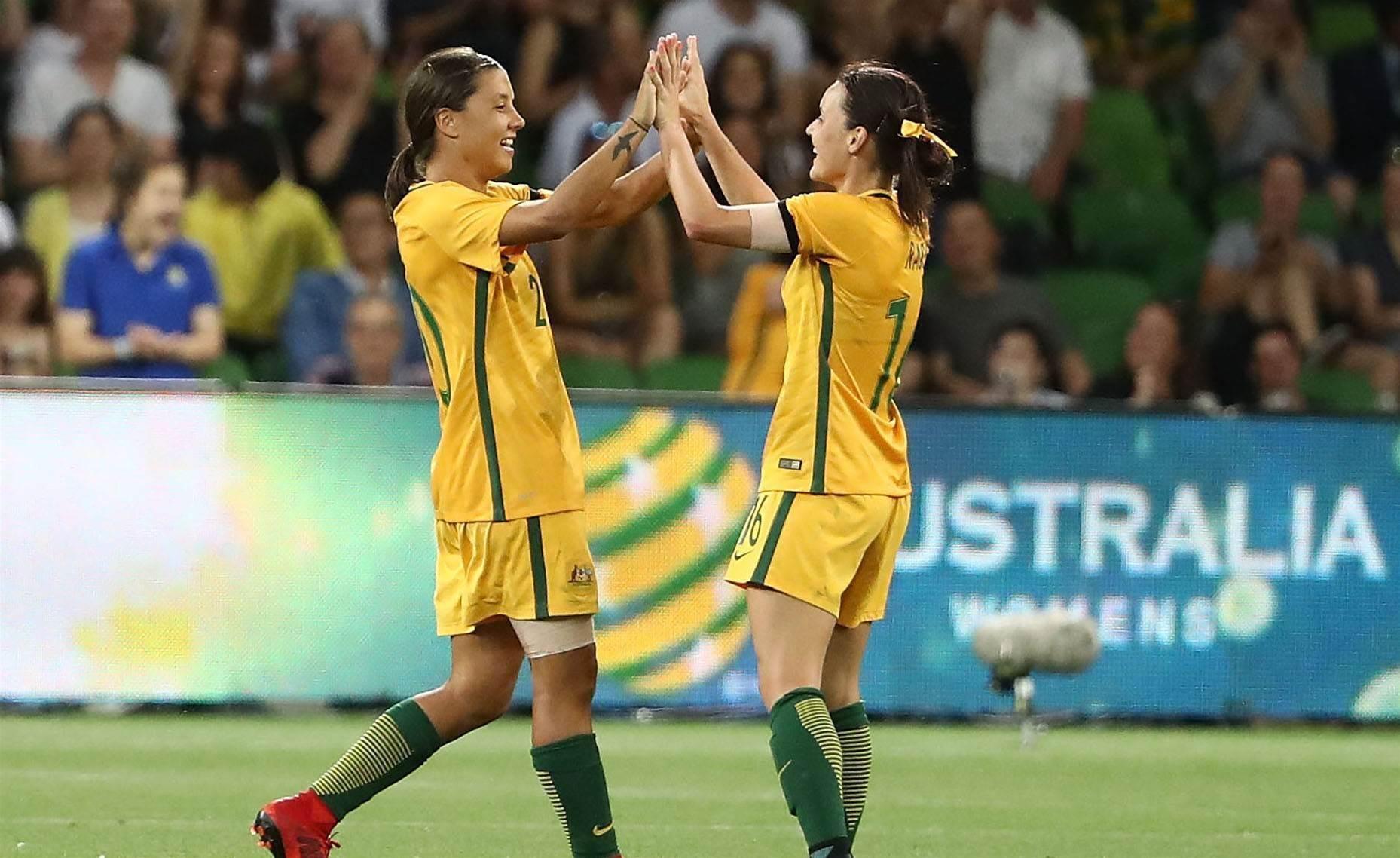 Player ratings: Matildas v China