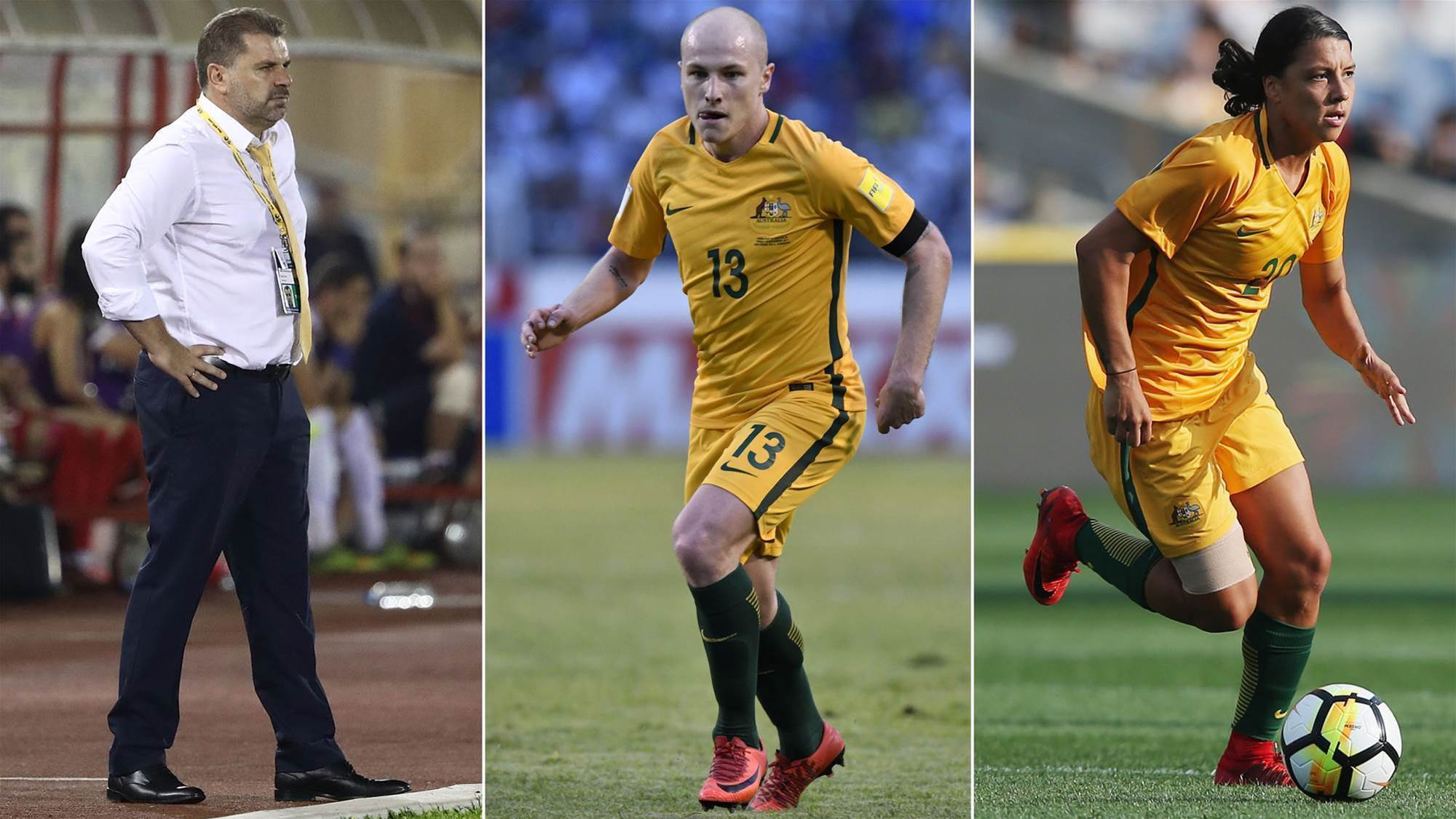 Aussies up for Asian football's top gongs