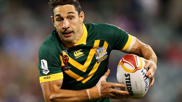 Slater to say goodbye to Kangaroos