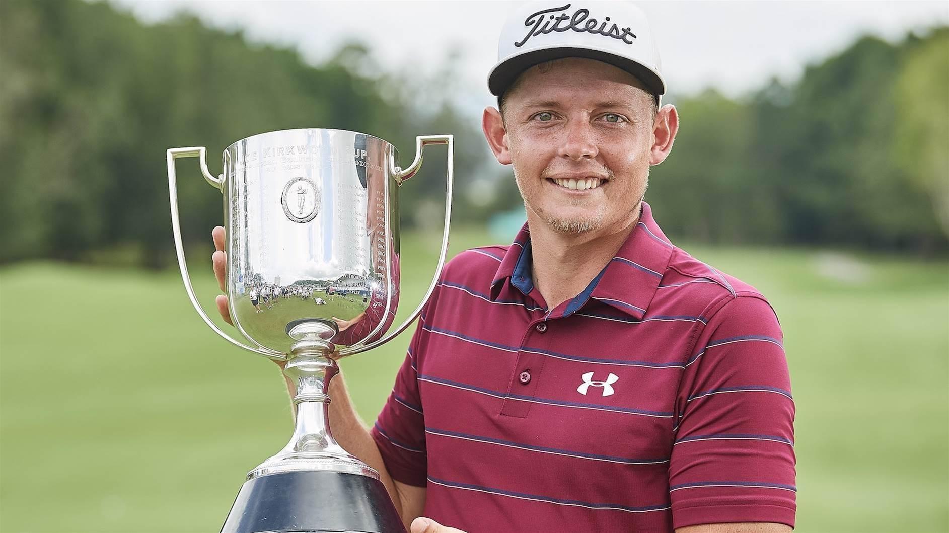AUS PGA: Cameron Smith snatches the silverware