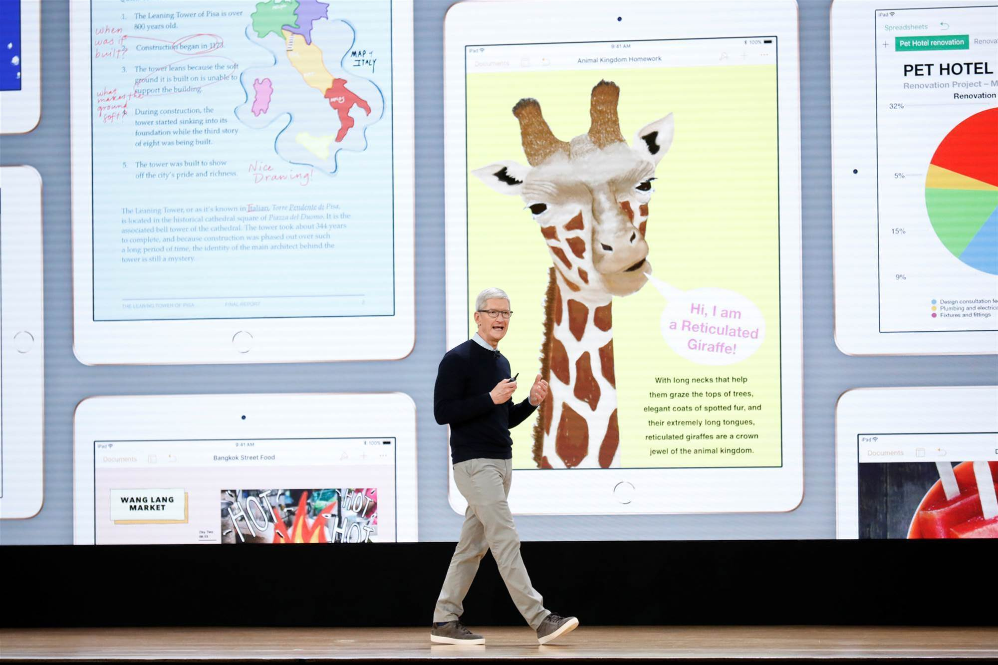 Apple bids for education market with new iPad