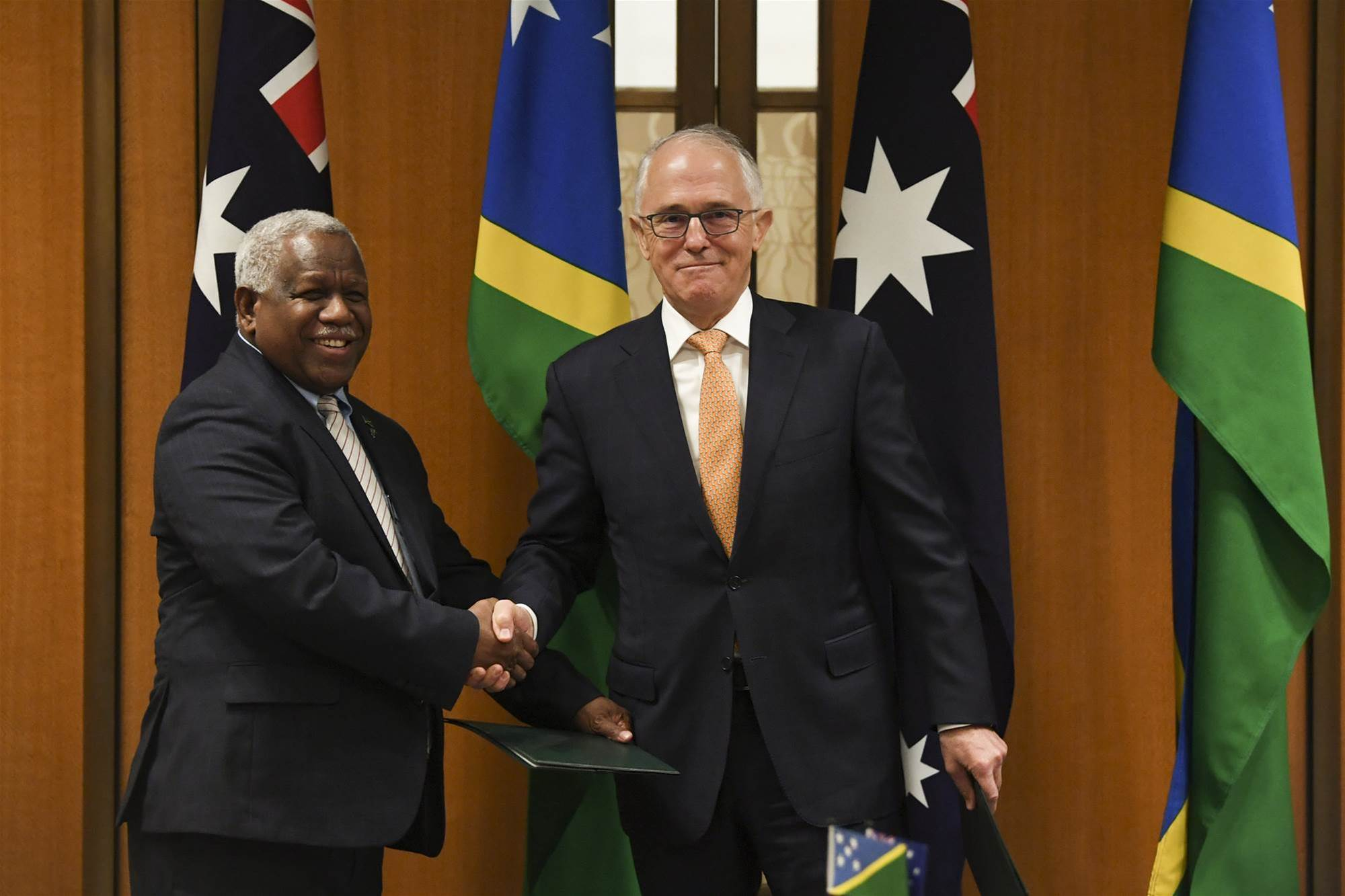 Australian government to fund internet cabling, cybersecurity centre for Solomon Islands