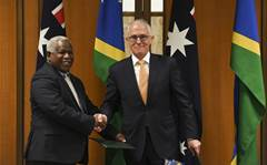 Australian govt to fund internet cables to Solomon Islands