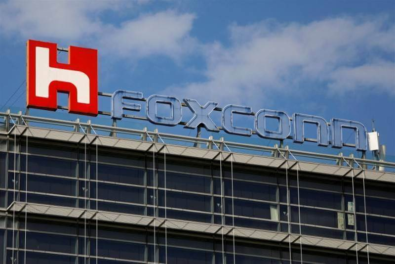 Foxconn calls Sino-US trade spat a 'tech war'