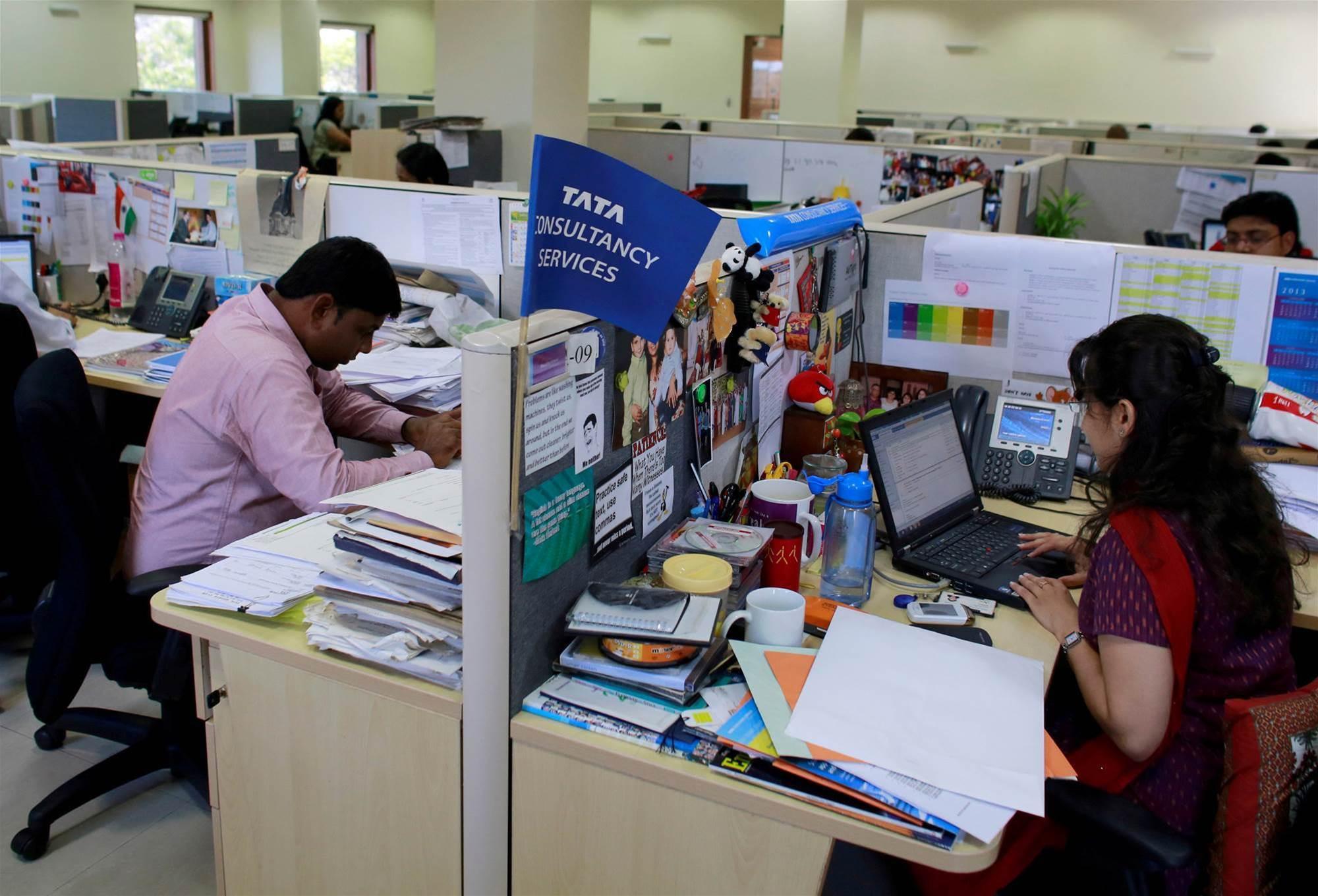 TCS posts record profit