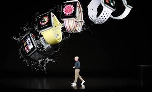 Apple debuts biggest iPhone yet, health-oriented watch