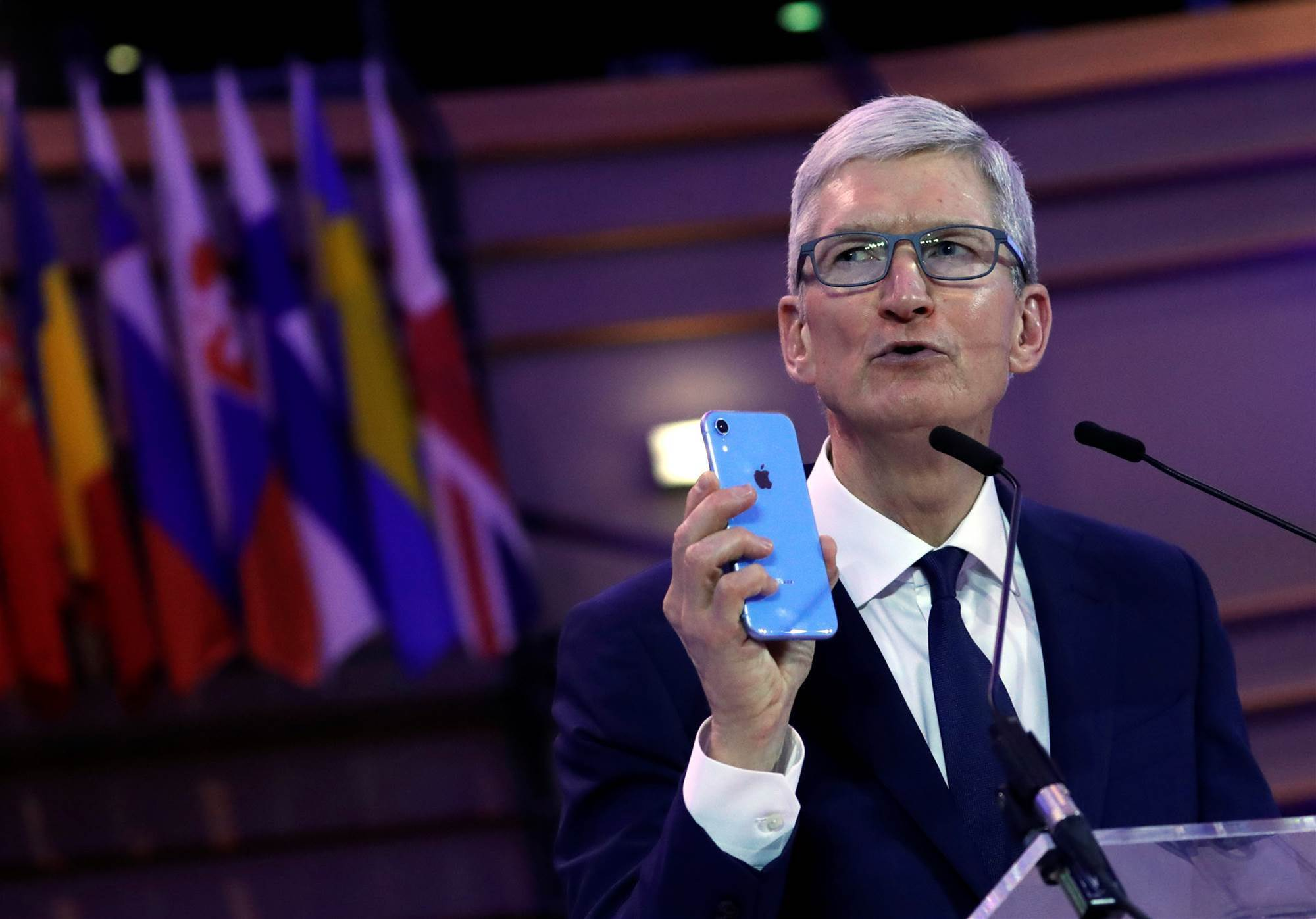 Apple boss takes aim at 'weaponisation' of customer data