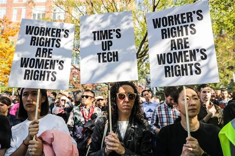 Google workers around the world protest its corporate culture