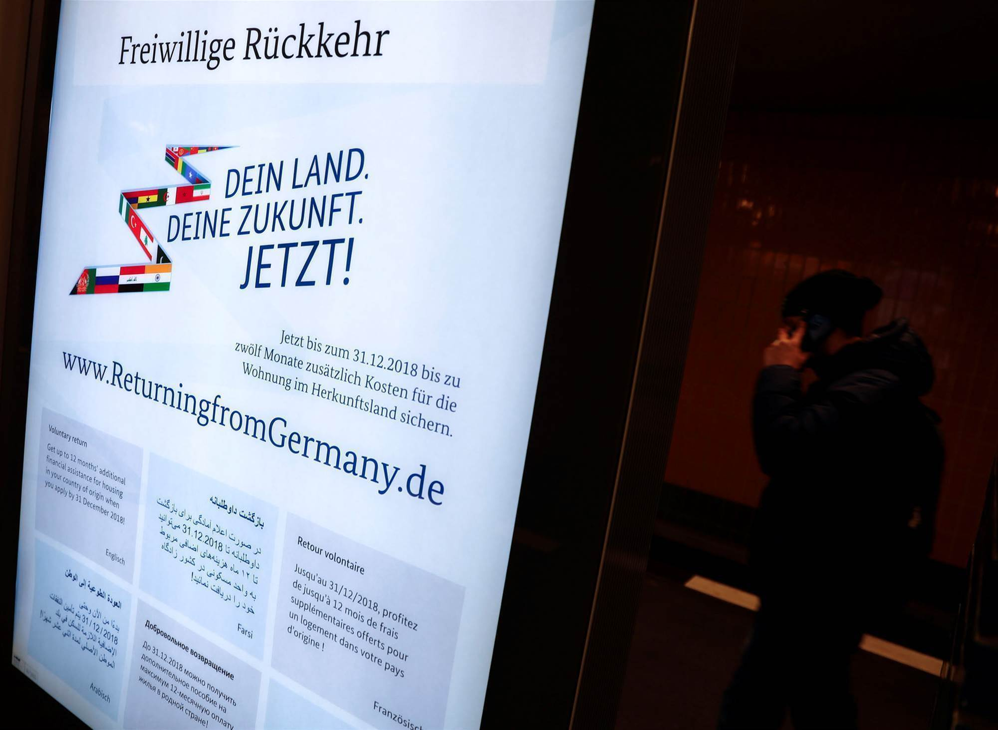 Tech executives tell Germany to scrap 'hate-filled' migrant campaign