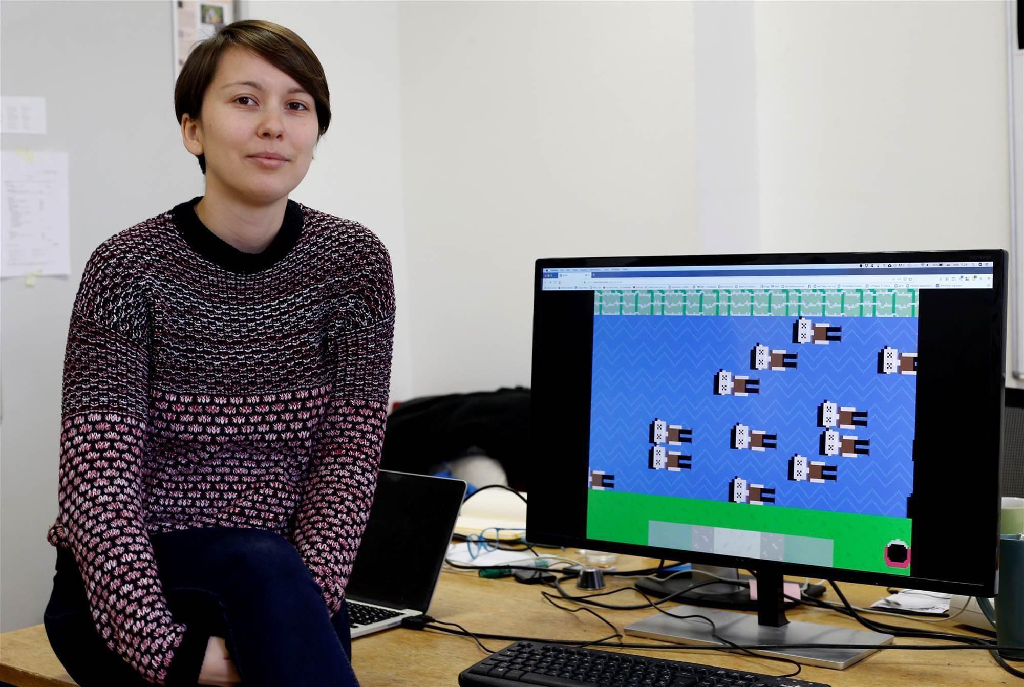 Online game 'Razor Wire' highlights migrants' hardship
