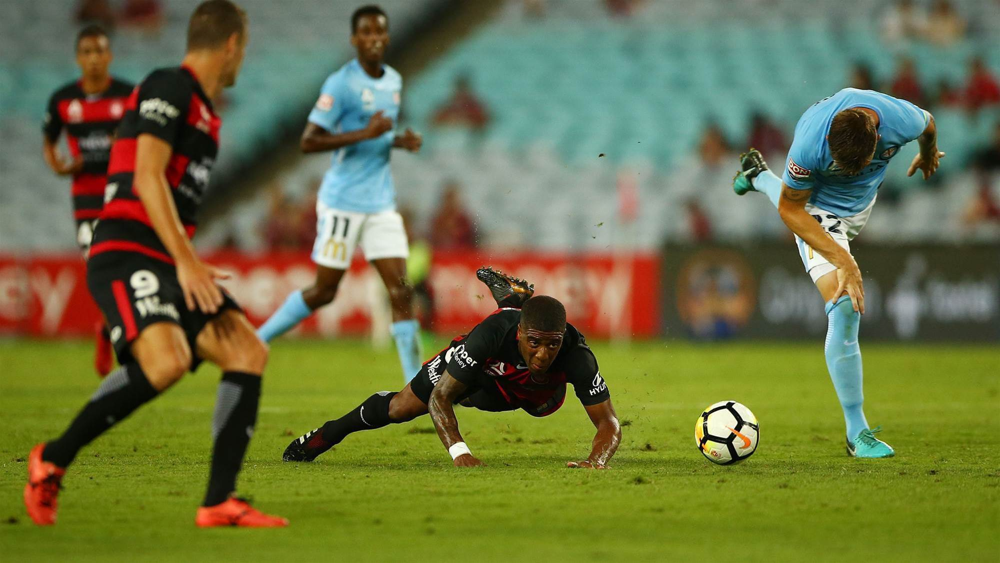 Western Sydney Wanderers v Melbourne City player ratings