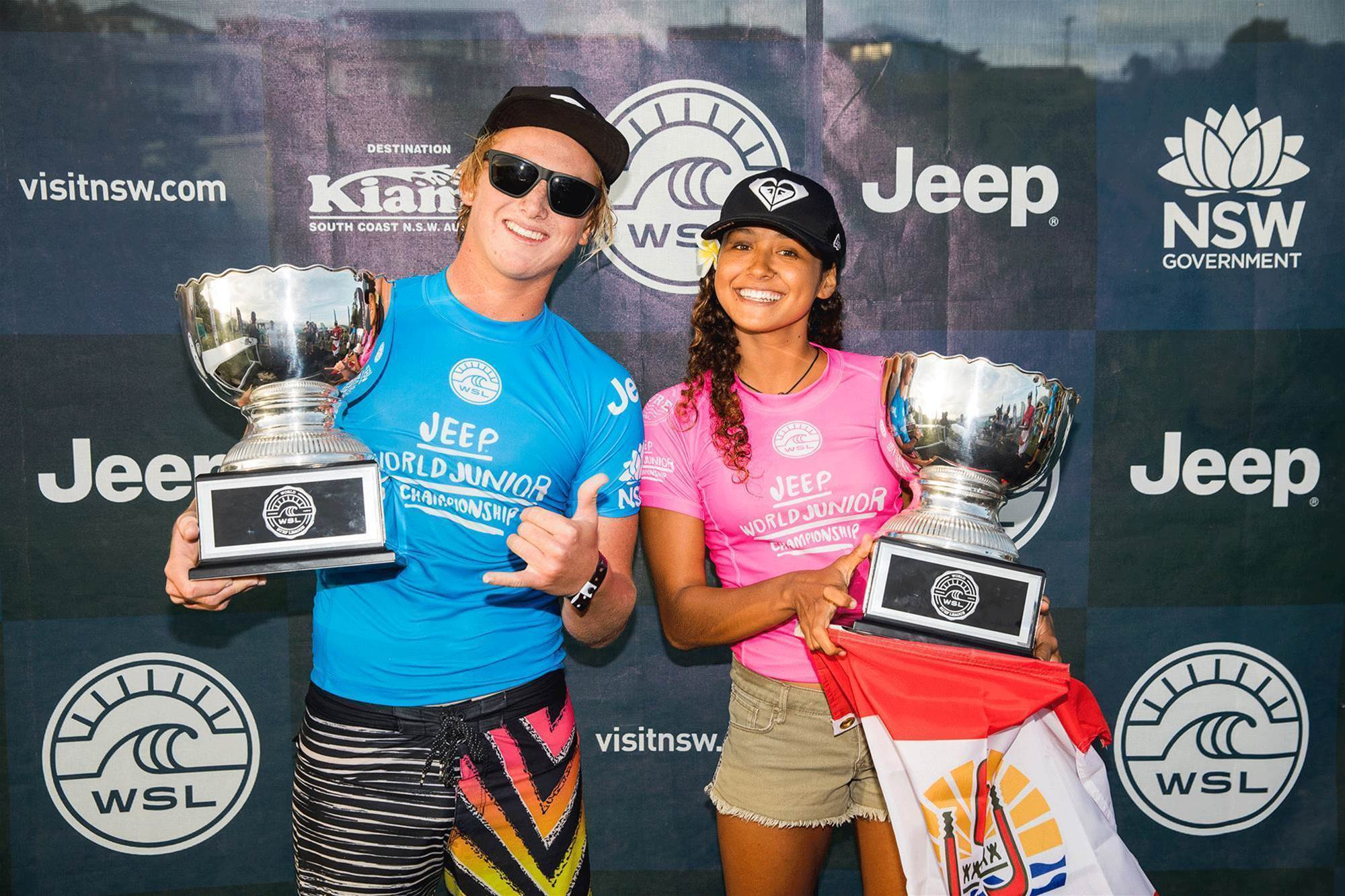 Island Fever at the World Pro Juniors