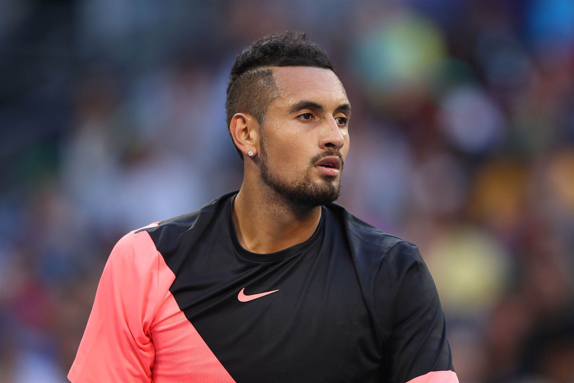 Kyrgios admits to nerves after opening round win