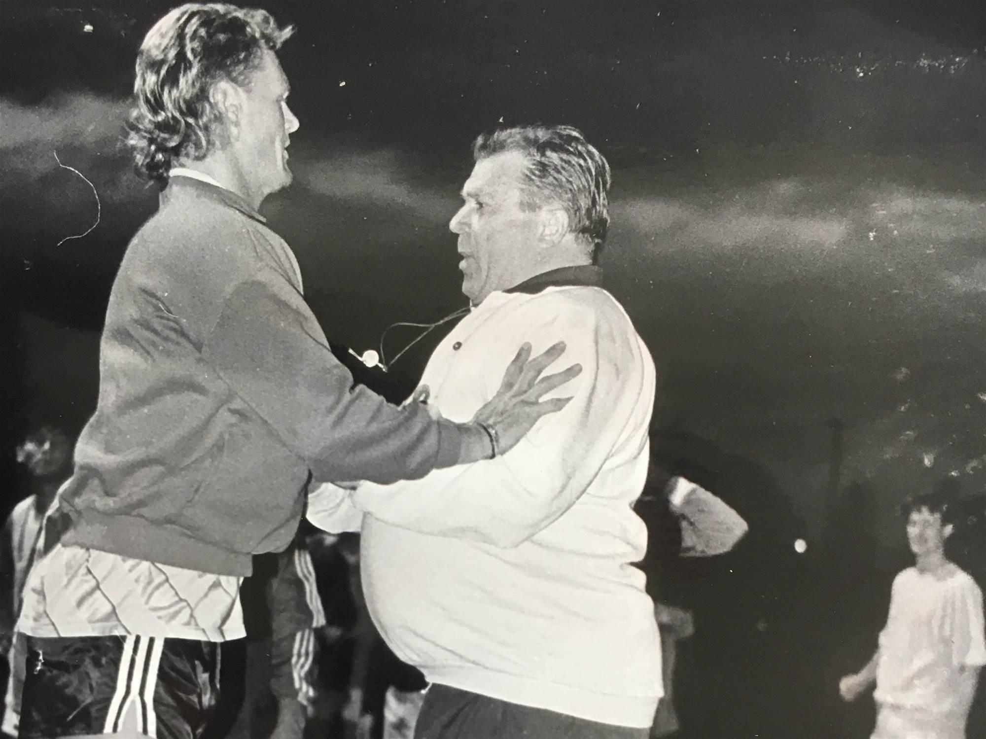 How did Puskas coach South Melbourne?