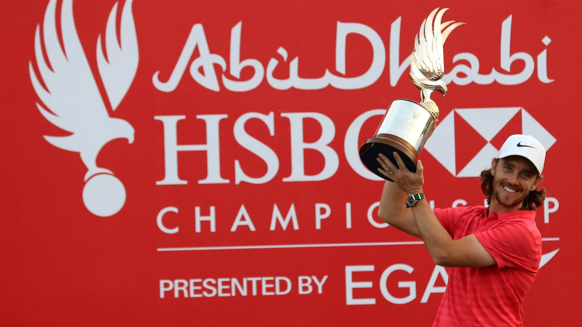 Firing Fleetwood wins Abu Dhabi championship