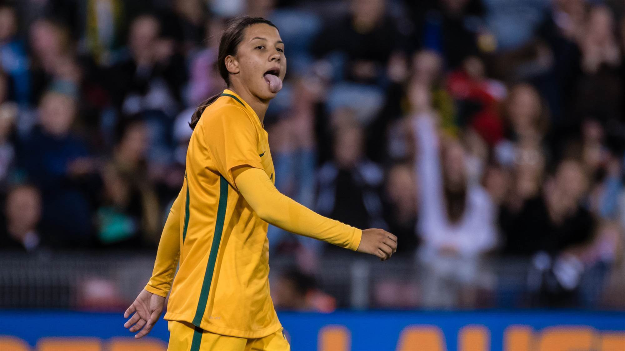 """Sam Kerr: """"We had some crazy times in 2017"""""""
