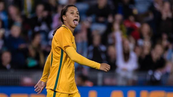 "Sam Kerr: ""We had some crazy times in 2017"""