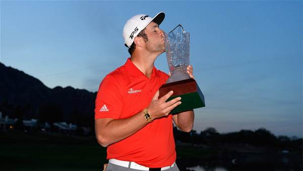 Rahm outlasts Landry to win CareerBuilder playoff
