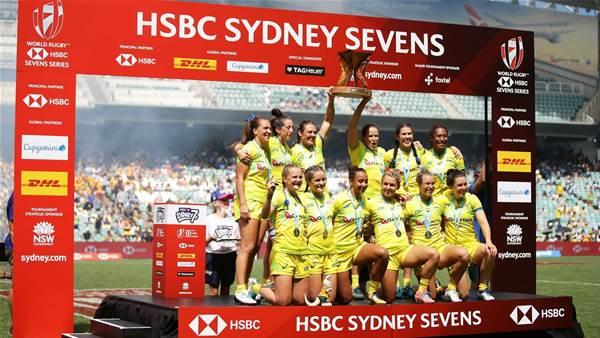 Australian women win Sydney Sevens