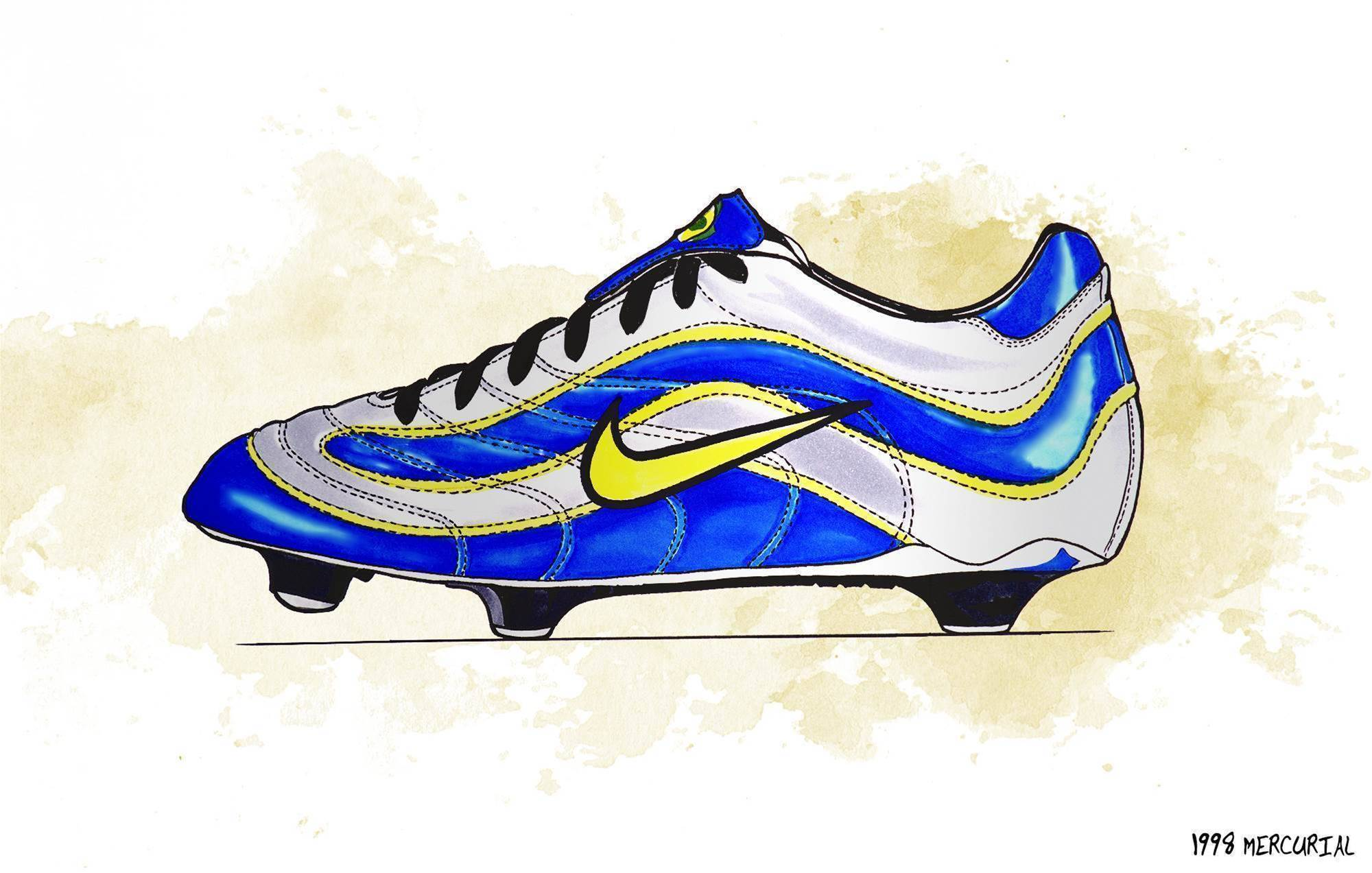 History of the Nike Mercurial
