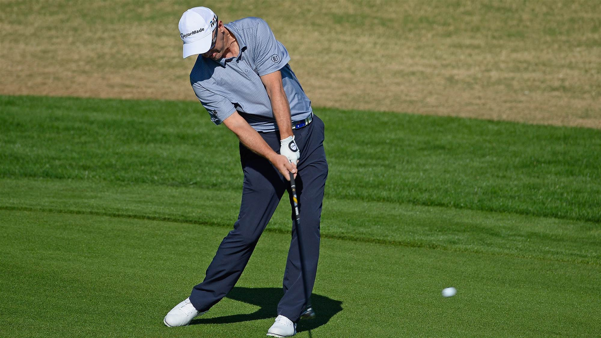 Percy lurks on PGA leaders at Pebble Beach