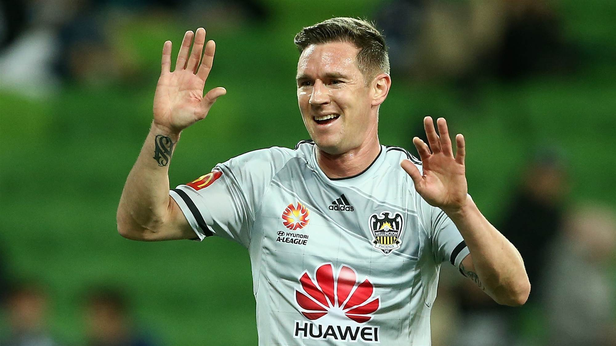 A-league legend Shane Smeltz calls time
