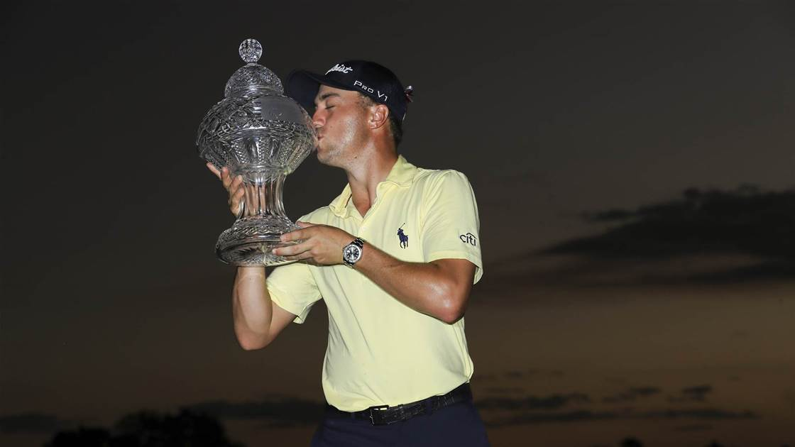 Thomas to overtake Spieth with Honda win