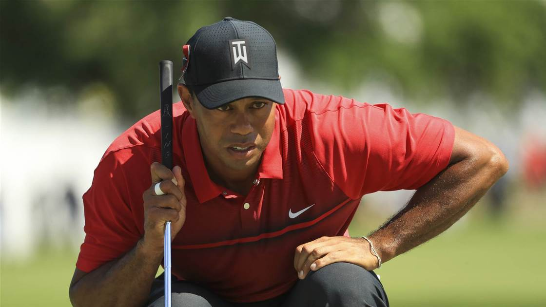 Tiger Woods gives fans cause for hope