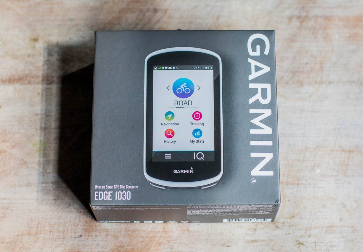 Unboxing the Garmin Edge 1030
