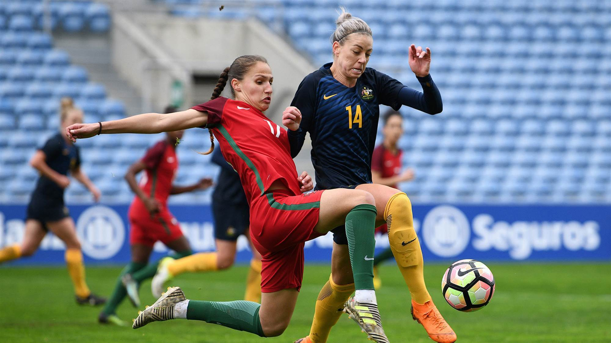 Stalemate for Portugal and Australia