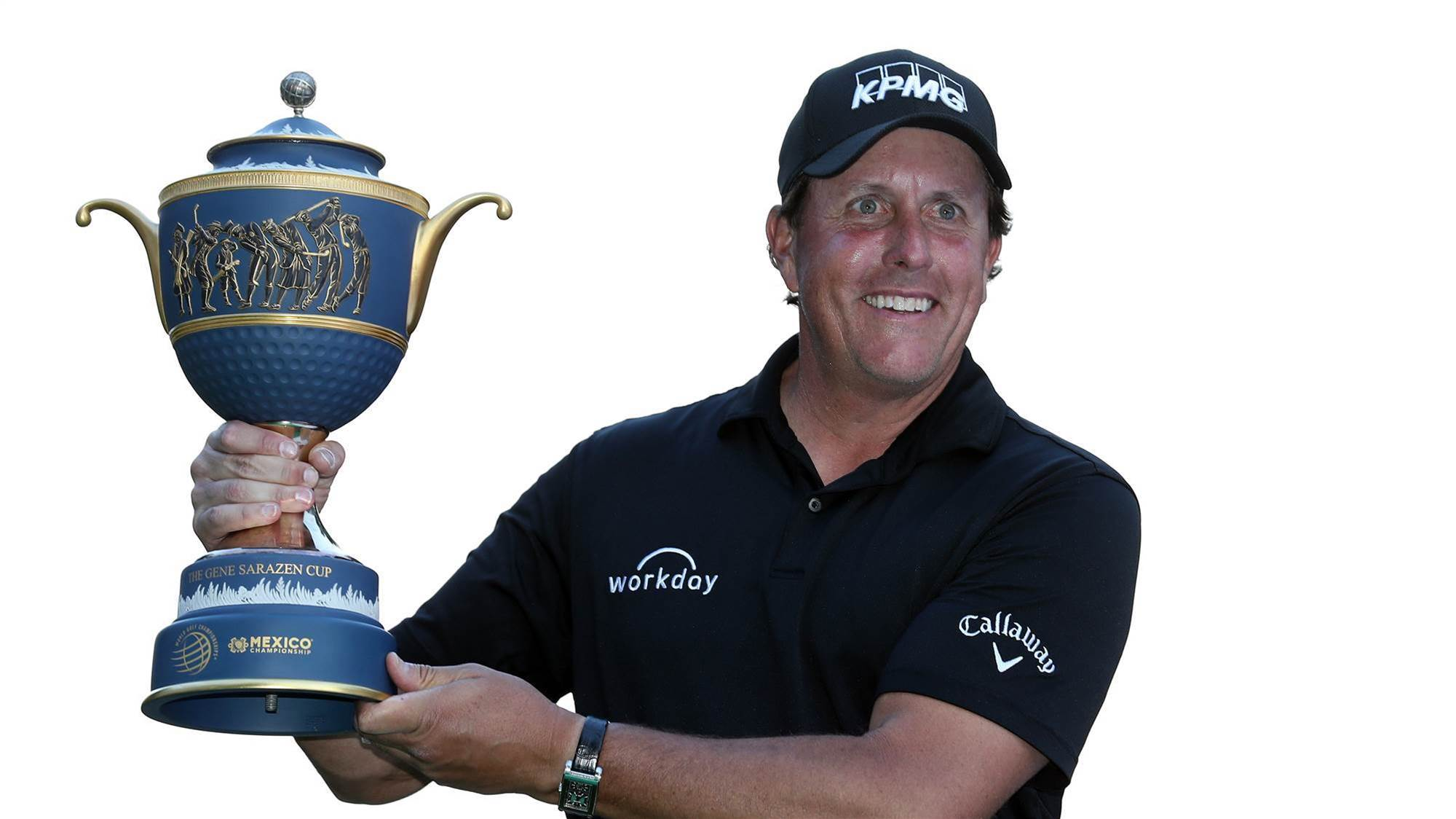 Mickelson finally back in the winner's circle