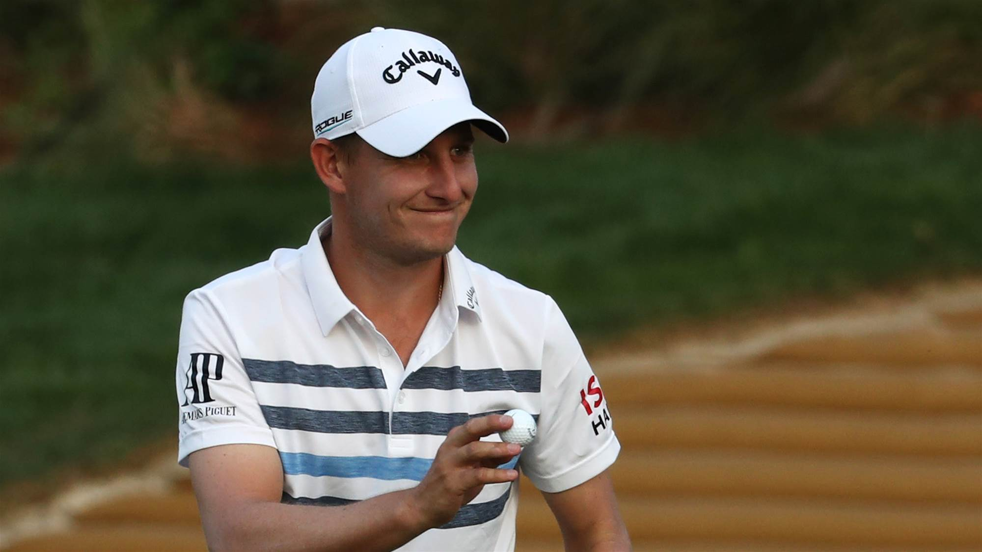 Grillo grabs early lead at Indian Open