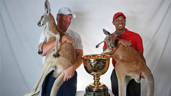 Presidents Cup: Tiger says Aussie crowds will help Els' team