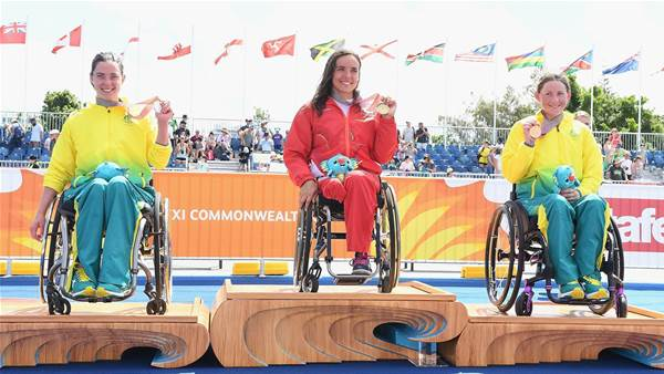 First Games Paratriathlon sees silver and bronze