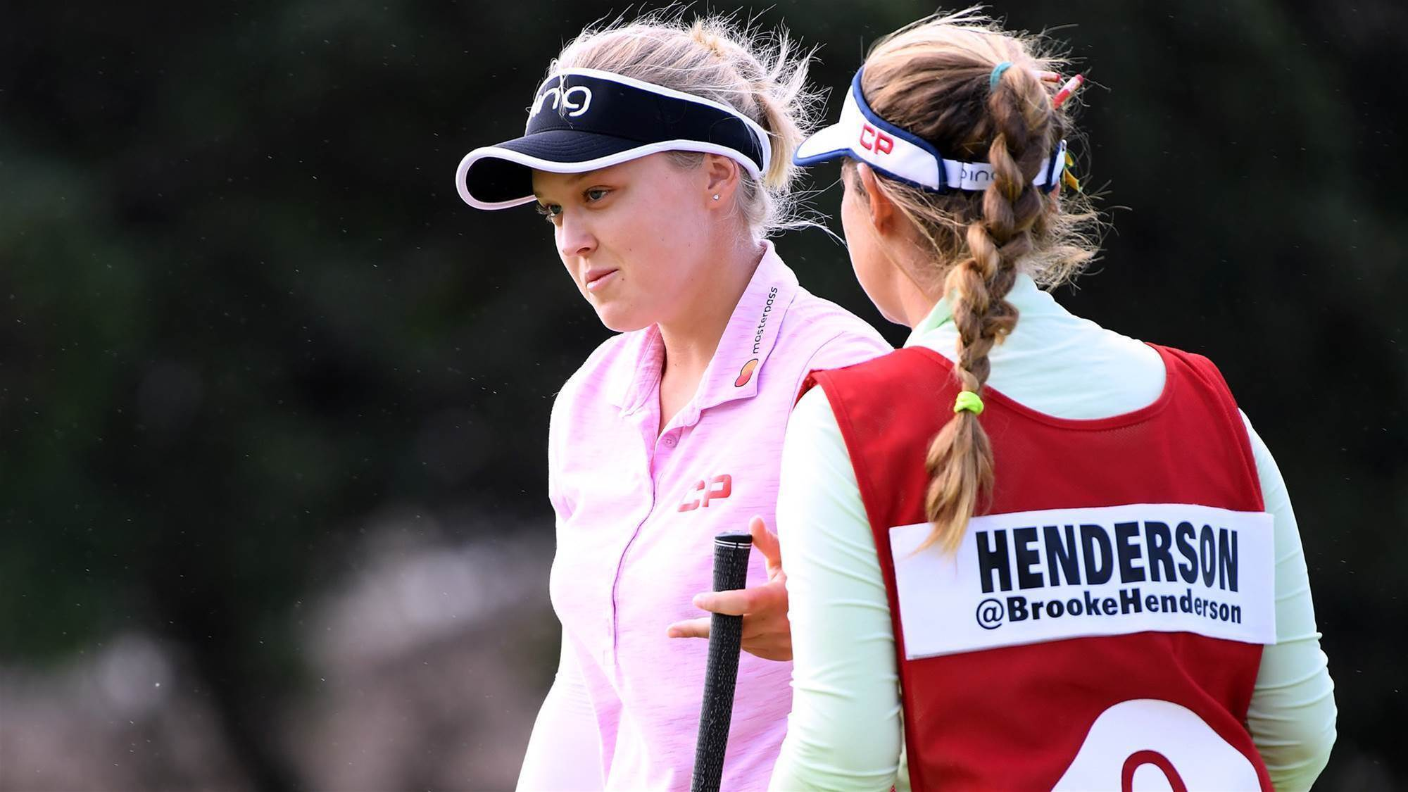 Henderson takes lead at Lotte Championship