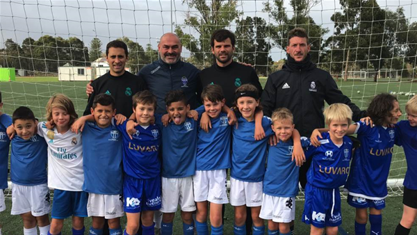 South Melbourne host Real Madrid juniors