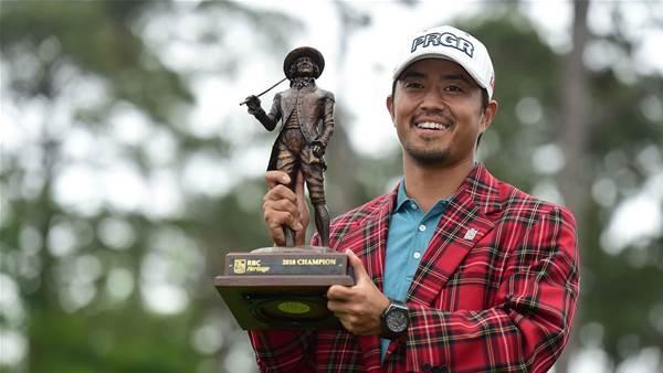 Kodaira claims first PGA Tour win